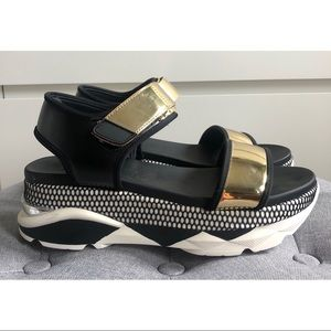 Platform Sneaker Sandals